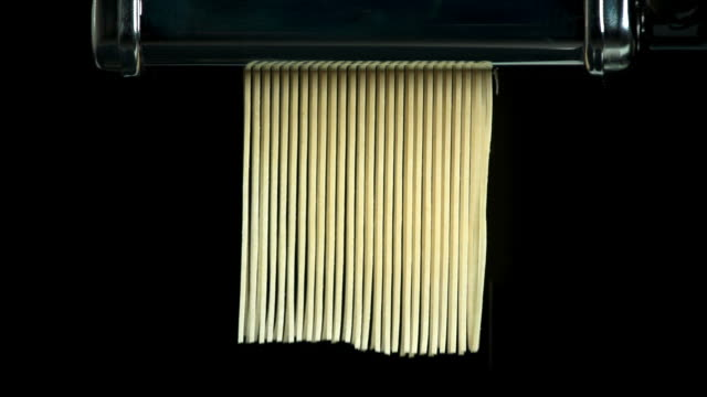 preparing home made pasta (4:2:2@100 mb/s) - vorbereitung stock videos & royalty-free footage