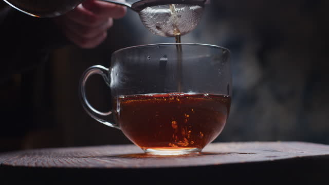 preparing masala chai - steep stock videos & royalty-free footage