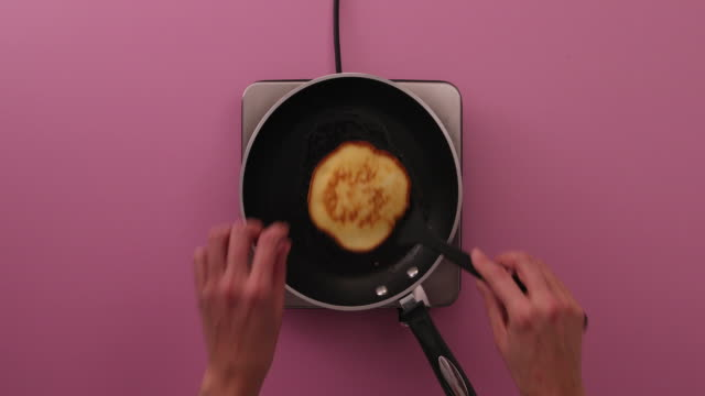 preparing pancakes, eggs, flour, baking powder, sugar, milk, dulce de leche, glass bowl - sugar bowl crockery stock videos and b-roll footage