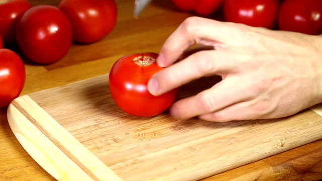 preparing tomatoes for cooking - tomato soup stock videos and b-roll footage