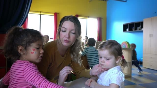 Preschool Student Paper Craft Little Heroes Learning