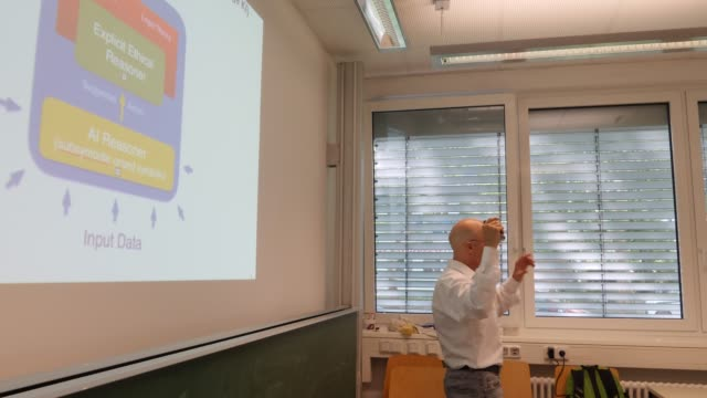 Presentation of professor Dr Christoph Benzmüller who investigates whether machines can learn rational reasoning and argumentation His main focus is...