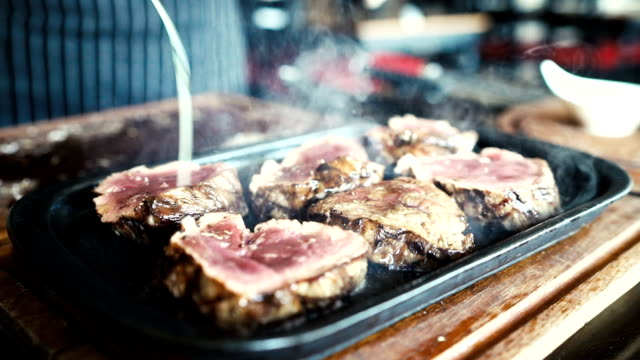 HD: Presentatie van biefstuk