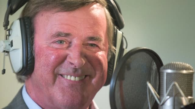 presenter terry wogan one of british televisions most familar faces and long running anchor of its eurovision coverage has died of cancer on sunday... - terry wogan stock videos & royalty-free footage