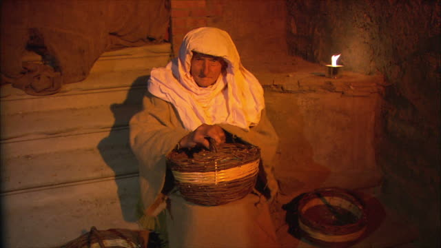 ms ds presepio vivente (living nativity scenes) / tuscany, italy - 使徒点の映像素材/bロール