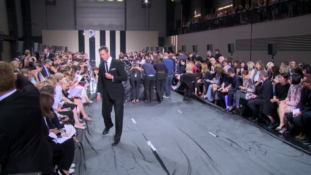 Preshow at Christopher Kane SS15 London Fashion Week on 15th September 2014 in London England