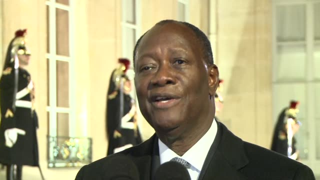 president alassane ouattara says he would not send any more ivorians to the international criminal court in the hague where his longtime rival... - international criminal court stock videos and b-roll footage