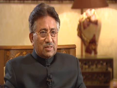 president and chief of army staff pervez musharraf on the fairness of the general elections in a state of emergency - state of emergency stock videos & royalty-free footage