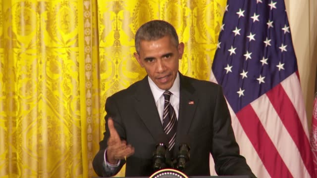 US President Barack Obama answers a question on the Israeli Election results and the relationship with Benjamin Netanyahu Iran talks as well...