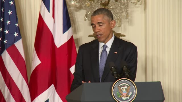 us president barack obama hosts british prime minister david cameron for meetings immediately after the charlie hebdo attacks in this clip pres obama... - materiale cartaceo video stock e b–roll