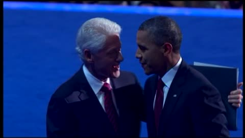 president barack obama joins bill clinton on dnc stage on september 05, 2012 in charlotte, north carolina - nomination stock videos & royalty-free footage