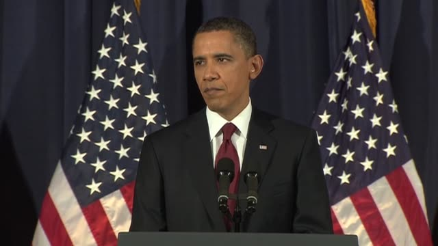 president barack obama monday told americans his actions had stopped a 'massacre' in libya but warned a military campaign to oust moamer kadhafi... - libya stock videos and b-roll footage