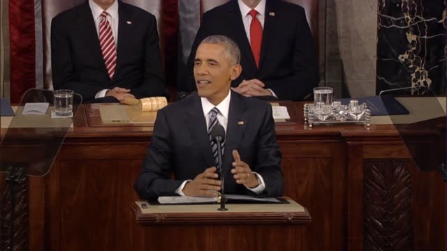 President Barack Obama says in his final State of the Union address the spirit of discovery is in the DNA Thomas Edison the Wright brothers and...