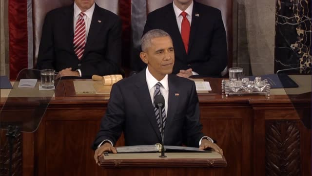 president barack obama says in his final state of the union that a better politics does that mean agreeing on everything in a big country of... - politics and government stock videos & royalty-free footage