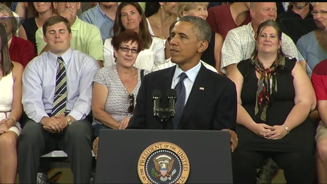 president barack obama says that education will be cheaper than ignorance in 21st century during a 2013 speech about the economy and the middle class - business or economy or employment and labor or financial market or finance or agriculture stock videos & royalty-free footage
