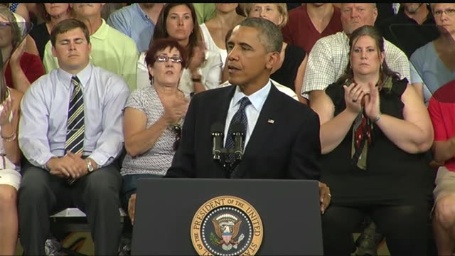 president barack obama says that the current economic system still favors highincome americans during a 2013 speech about the economy and the middle... - business or economy or employment and labor or financial market or finance or agriculture stock videos & royalty-free footage