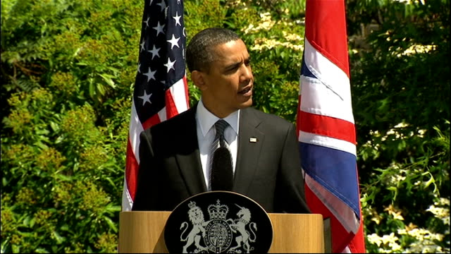 Day 2 Obama and David Cameron press conference Barack Obama speech SOT And finally we launched a joint initiative to exchange the best ideas and...