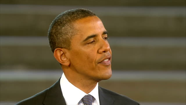 Day 2 Speech at Westminster Barack Obama speech SOT I believe we can do it again and as we do the successes and failures of our own past can serve as...