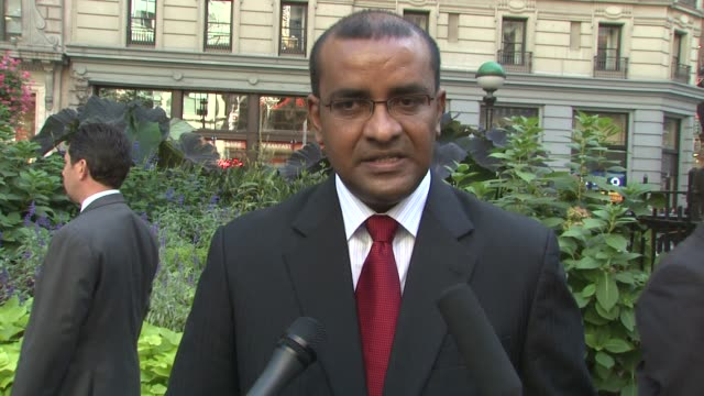 president bharrat jagdeo of guyana on why and how he got involved with forest preservation, on guyana setting an example, and on working with other... - guyana stock videos & royalty-free footage