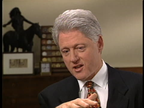 president bill clinton names elvis as his favorite entertainer during an interview with katie couric shortly before the turn of the millennium this... - ella fitzgerald stock videos & royalty-free footage