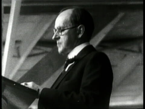 president calvin coolidge speak from a podium - 1924 stock videos and b-roll footage