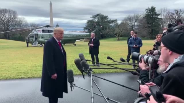 s president donald trump accused democrats on friday of having what he called derangement syndrome just two days after he was acquitted in his... - membro del congresso video stock e b–roll