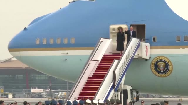US President Donald Trump arrives in Beijing for the critical leg of his Asia tour to drum up an uncompromising global front against the nuclear...