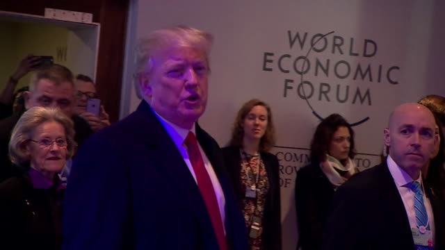 President Donald Trump comments on bringing wealth back into the US