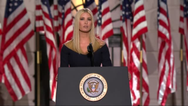 president donald trump eldest daughter and senior adviser ivanka trump says in live broadcast remarks to the republican national convention on the... - advice stock videos & royalty-free footage