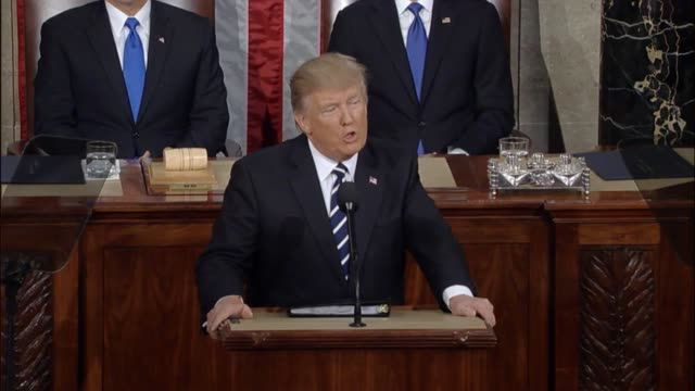 President Donald Trump tells a Joint Session of Congress that he will not allow past mistakes to define the course of the country's future Trump says...