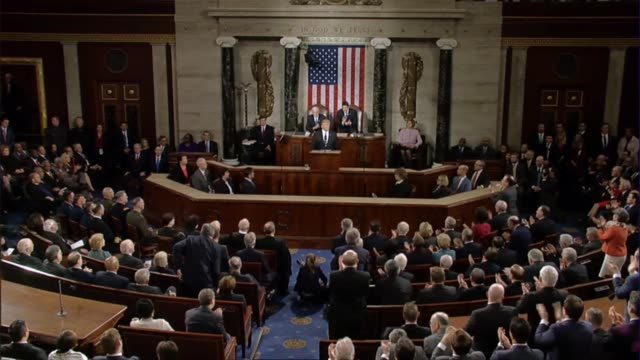 President Donald Trump tells a Joint Session of Congress that his administration is taking an aggressive stance against Radical Islamic Terrorism and...