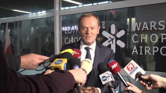 EU President Donald Tusk was back in his homeland on Saturday to attend a ceremony marking Poland's independence day at a time when the governing...