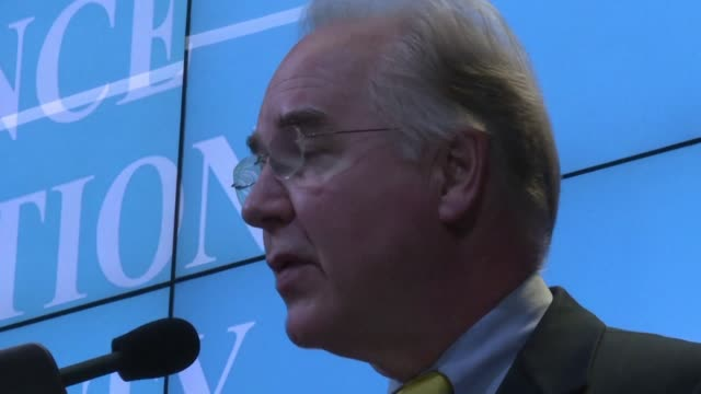 president elect donald trump nominated fierce obamacare critic tom price as health secretary indicating he plans to fulfill a campaign promise to... - critic stock videos & royalty-free footage