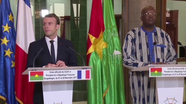 President Emmanuel Macron on Tuesday kicked off his maiden African tour by vowing to declassify secret French files on Burkina Faso's assassinated...