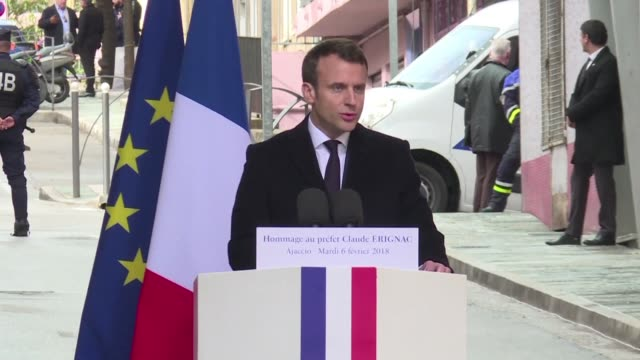 President Emmanuel Macron tells nationalists on the island of Corsica that he would try to accommodate their demands for more autonomy while keeping...