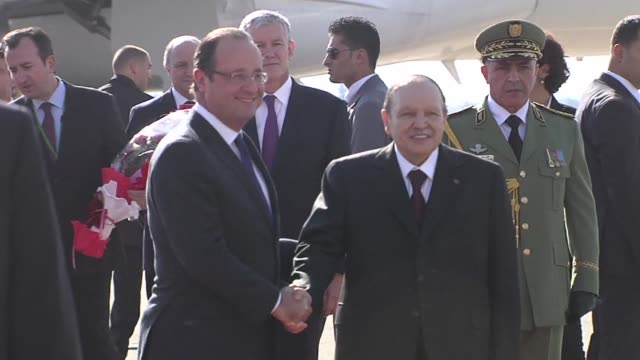 President Francois Hollande arrived in Algeria for a landmark visit to the former French territory amid hopes of a new phase in relations but...