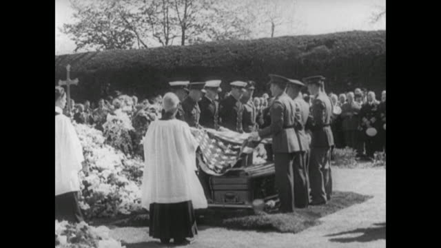 President Franklin Delano Roosevelt's Funeral