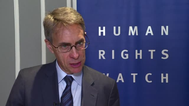 president jair bolsonaro is frontally attacking human rights in brazil with his security and environmental policy says human rights watch executive... - executive director stock videos & royalty-free footage