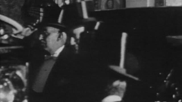 President Jose Felix Uriburu and Vice President Julio A Roca arrived at Casa Rosada after the military coup that overthrew president Hipólito Yrigoyen