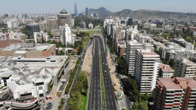 president kennedy avenue - chile stock videos & royalty-free footage