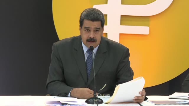 President Nicolas Maduro says the Petro will help Venezuela get rid of the colonialist empire of the dollar as the country formally launches its new...