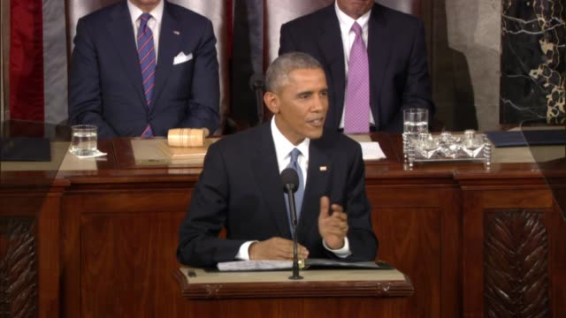 President Obama at State of the Union address tells Congress 'I want this chamber I want this city to reflect the truth' about commonalities in...