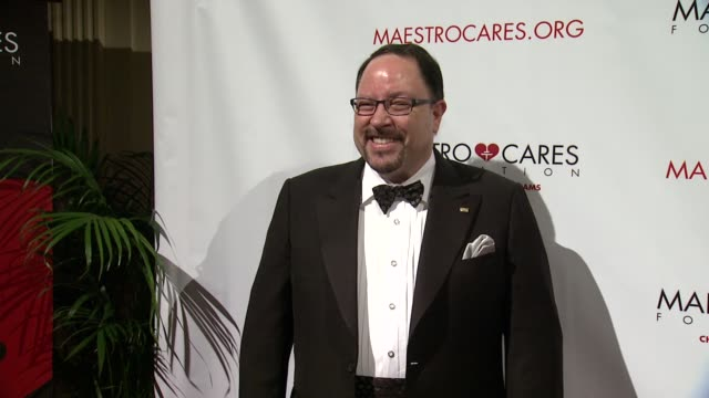 president of goya foods robert unanue at maestro cares first annual gala dinner - new york at cipriani, wall street on february 18, 2014 in new york... - cipriani manhattan stock videos & royalty-free footage