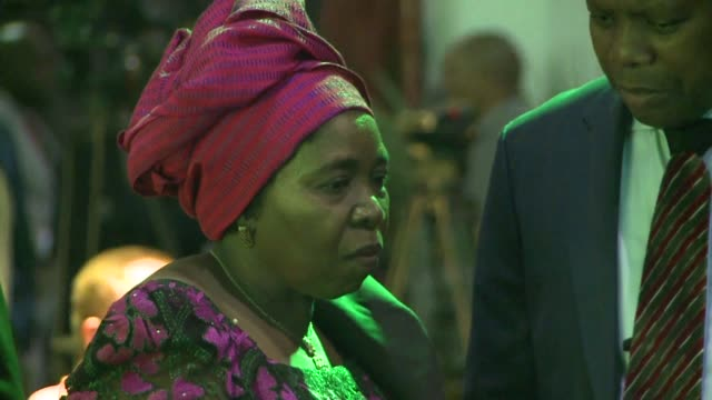 President of South Africa and of the African National Congress Jacob Zuma hosts a presidential Gala dinner on the eve of South Africa's ruling...