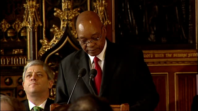 Jacob Zuma speech to MPs Jacob Zuma speech continues SOT In forums like the G20 we remain fervent critics of protectionism strong advocates of reform...