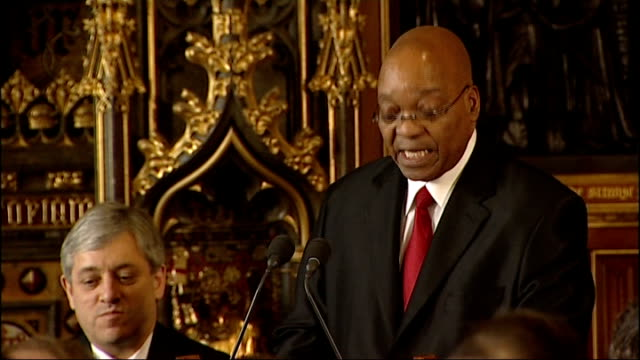 jacob zuma speech to mps jacob zuma speech continues sot fifty years ago president mandela and the late anc president oliver tambo joked that one day... - best supporting actor stock videos & royalty-free footage