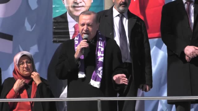 President Recep Tayyip Erdogan on February 17 2018 said Turkey's ongoing operation in northwestern Syria is getting closer to 'victory' with each...