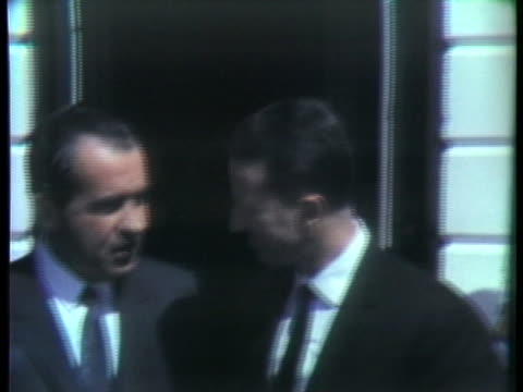 president richard nixon pauses for a photo opportunity with king baudouin i of belgium at the white house. - united states and (politics or government) stock videos & royalty-free footage