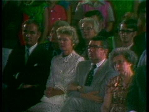 president richard nixon states that greatness comes in the face of disappointments during his resignation speech in 1974. - resignation of richard nixon stock videos & royalty-free footage