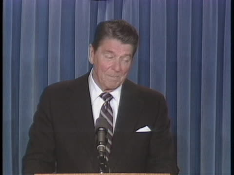 president ronald reagan discusses u.s. relations with the soviet union. - decline stock videos & royalty-free footage